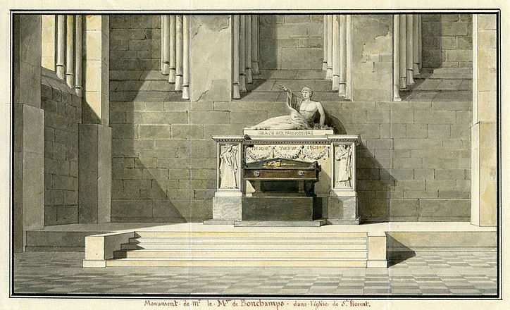 david d-angers-achille leclerc--tombeau