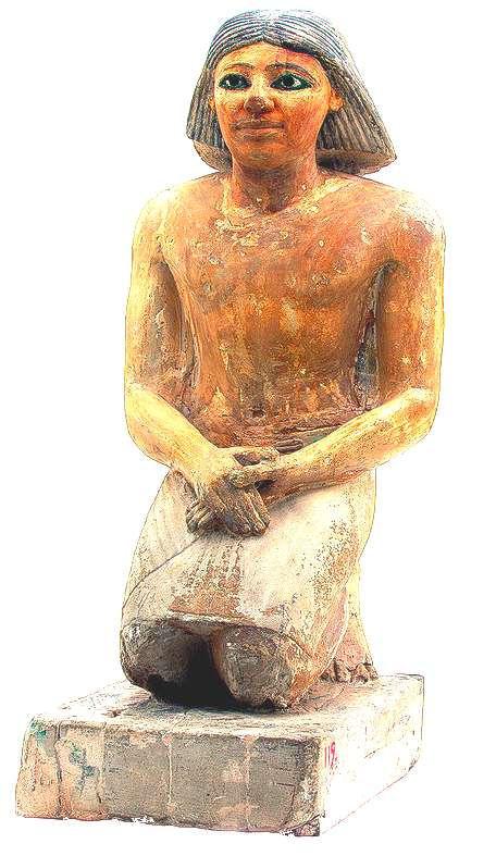 kaemked-scribe-boulaq-saqqara-Ve dynasti
