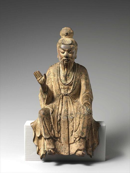 lao-tseu-statuette-bronze-Xe siecle-metropolitan museum-new york.jpg