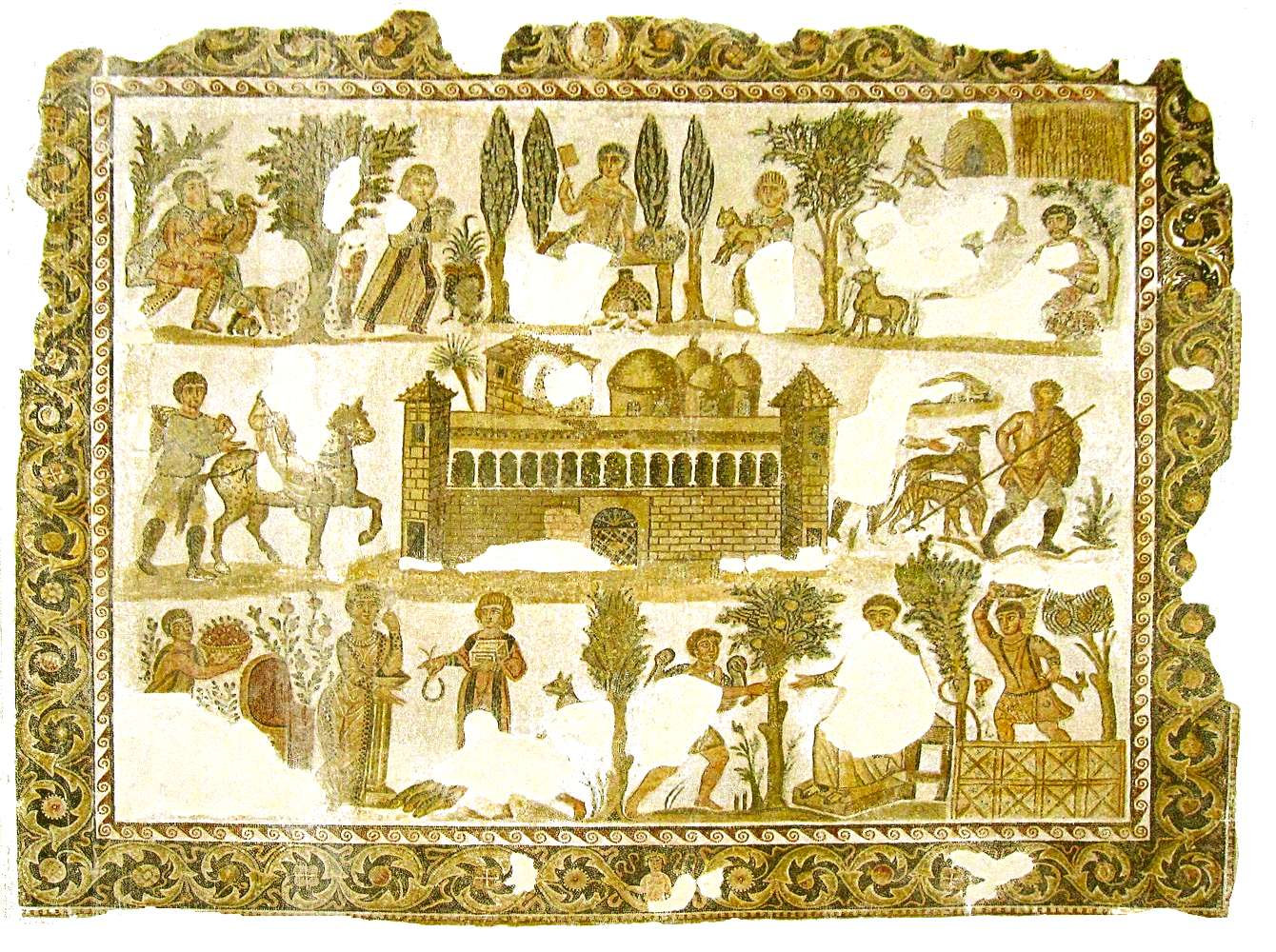carthage-mosaique-dominus Julius-musee B