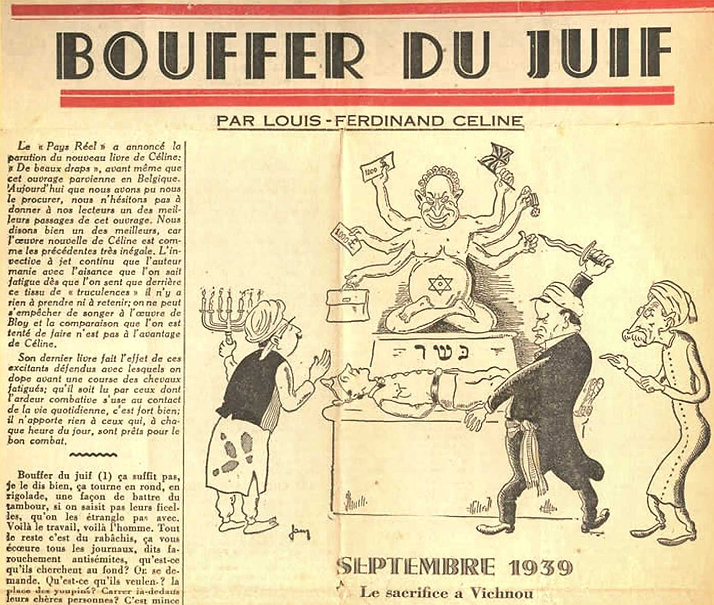 celine-le magazine-16 mars 1941-bouffer