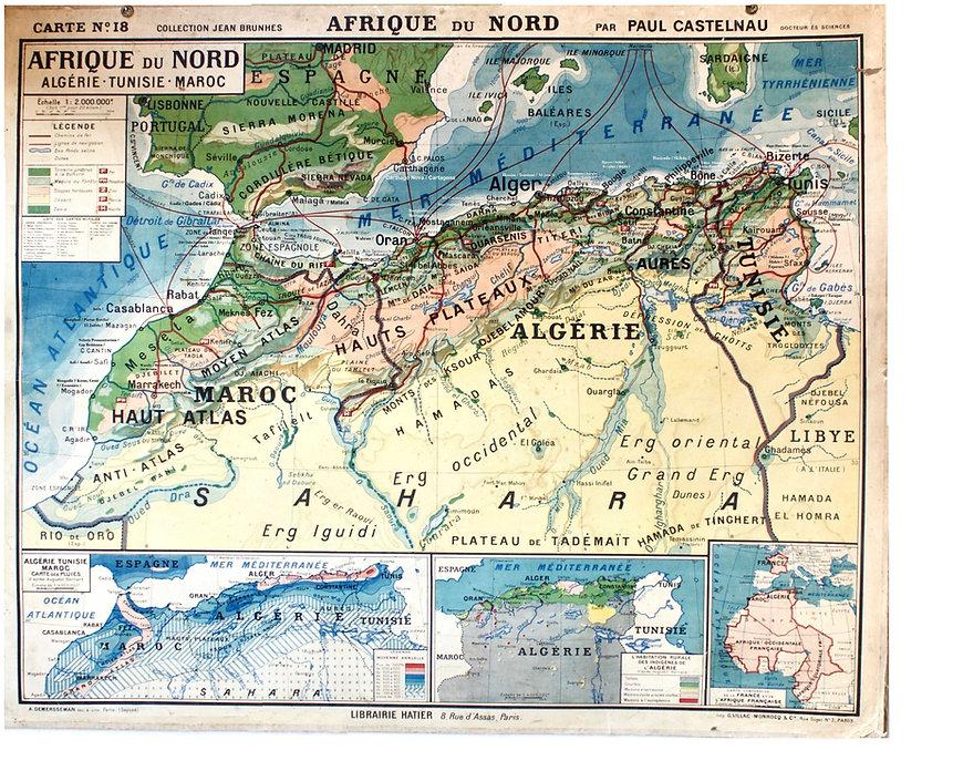 afrique du nord-carte-paul castelnau-192