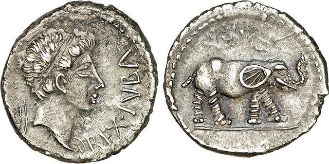 juba II-royaume mauretanien-denier argen