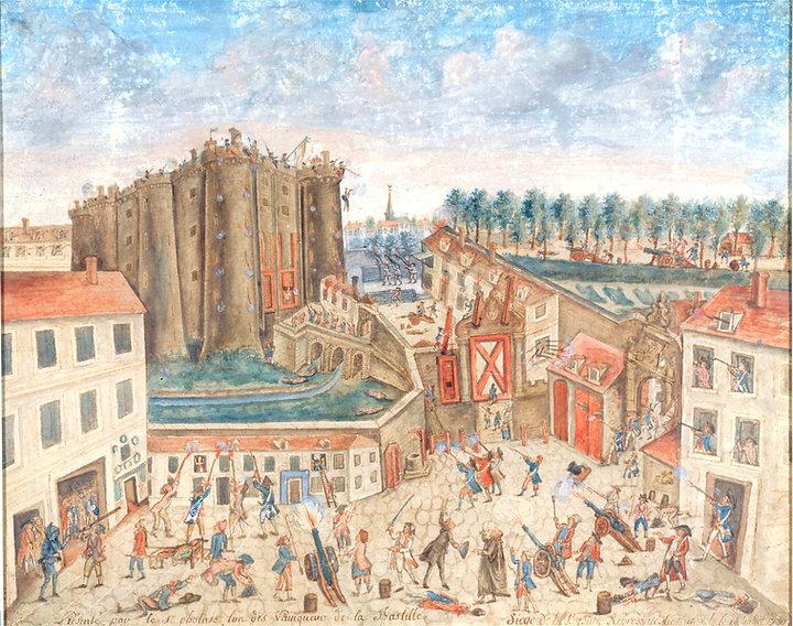 bastille-14 juillet 1789-claude cholat-1