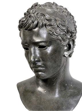 juba II-buste-sculpture bronze-vers - 25