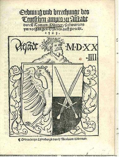 muntzer-ordre et explication culte eglis