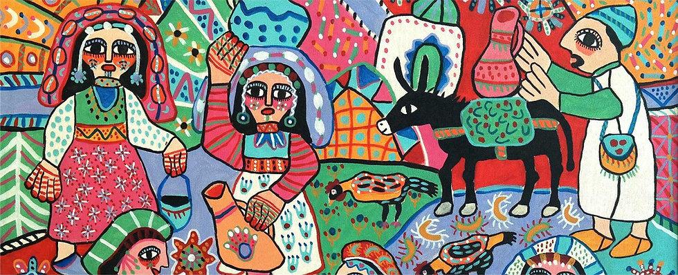 maroc-peinture-fatna-gbouri-1924-2012.jp