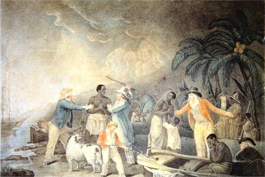 morland george-traite des negres-gravure