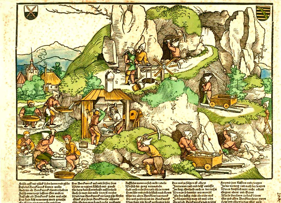 mine saxonne-Hans Sebald Beham-1528-coll