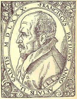 gravure Discussiones peripateticae, édition Basel, 1581.