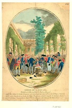 gardes francaises-palais royal-coll de v