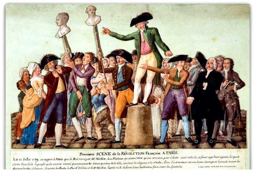 "revolution francaise"" - 12 juillet 1789 -"