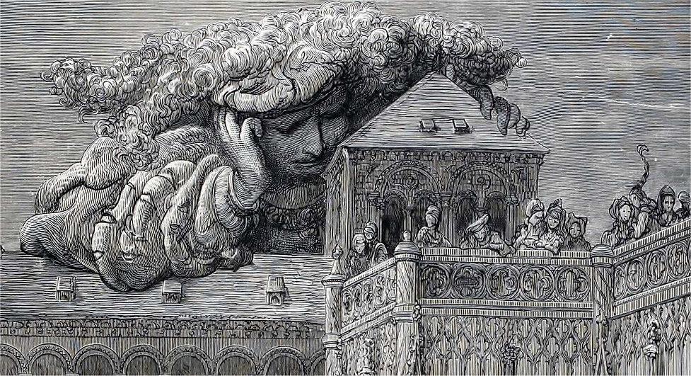 rabelais- theleme-gargantua-gustave dore