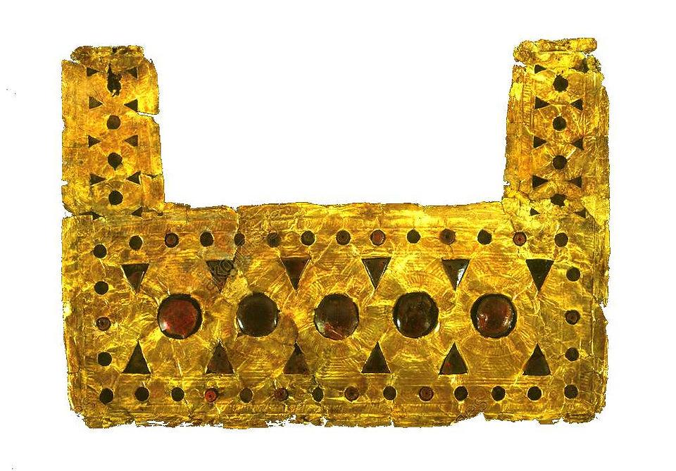pectoral-tombe galeassi-palestrina-VIIIe
