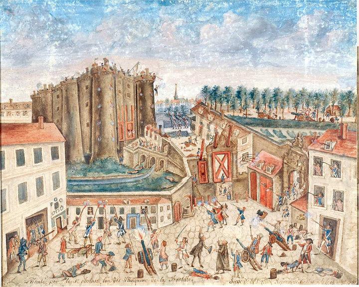 prise de la bastille-claude cholat-1789-