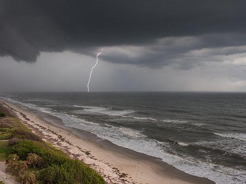 Gewitterfront, Melbourne/Florida