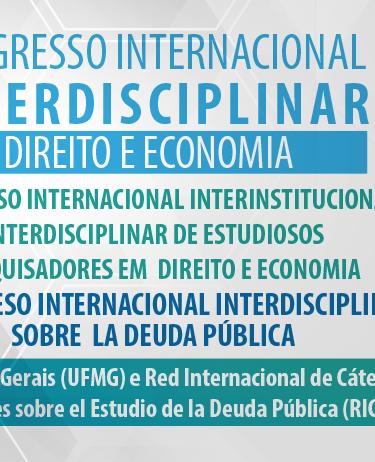 I Congresso Interdisciplinar Direito e Economia