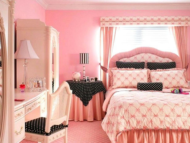 Home decor ideas in pakistan - pink bedroom