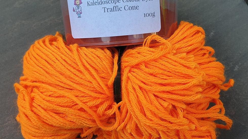 Traffic Cone Acid Dye