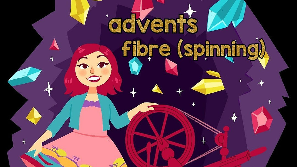Spinners Advent Calendar 2020 - Gemstones