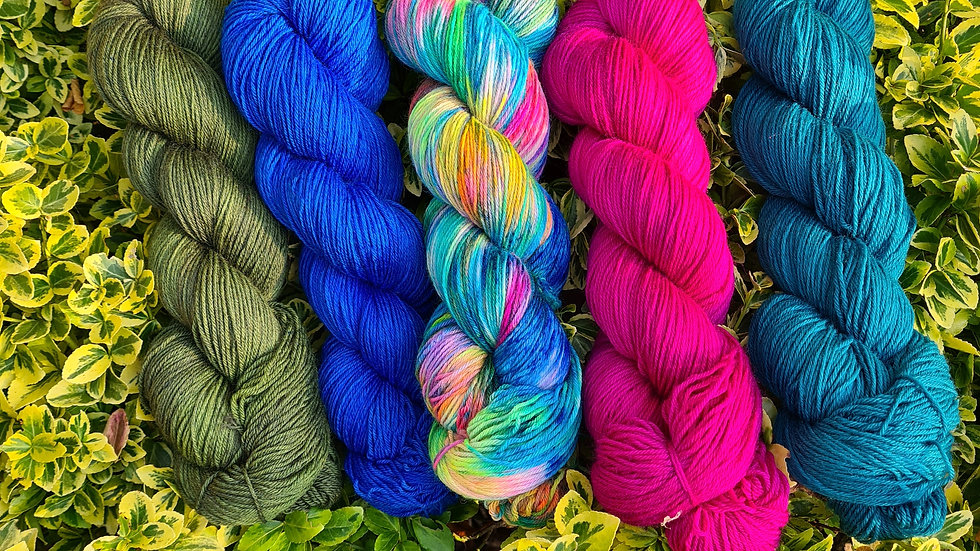 Yarn Kit #5 - suitable for the WestKnits MKAL