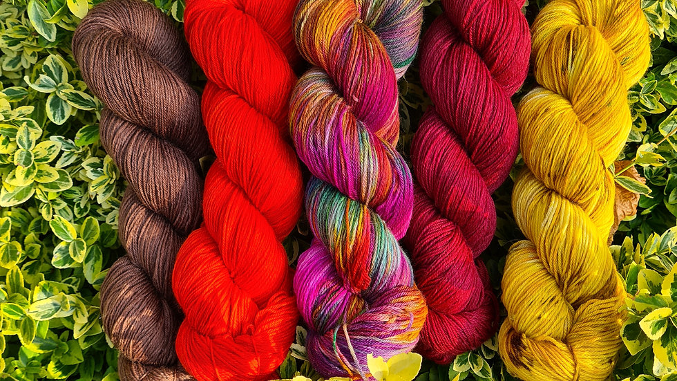 Yarn Kit #1 - suitable for the WestKnits MKAL