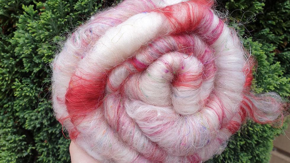Red tweed batt