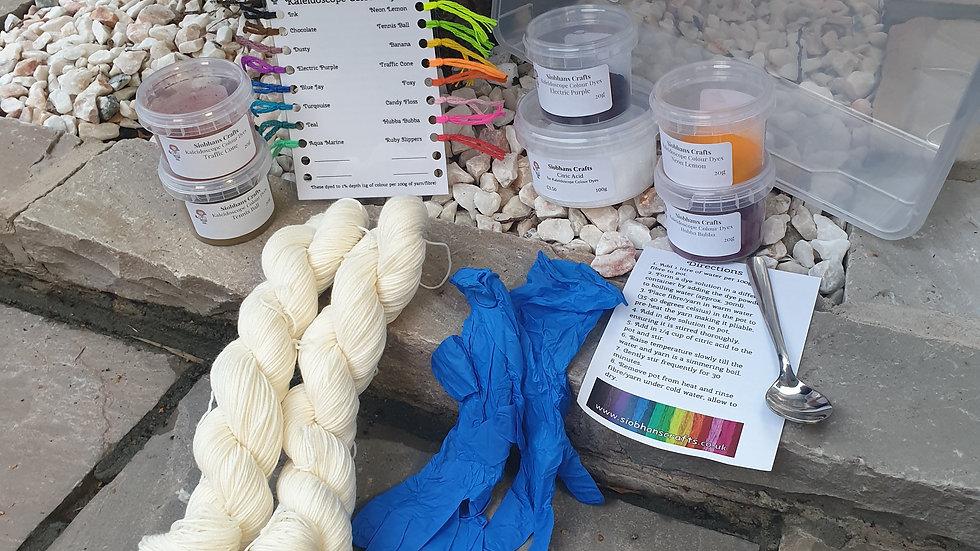 Learn to dye kit