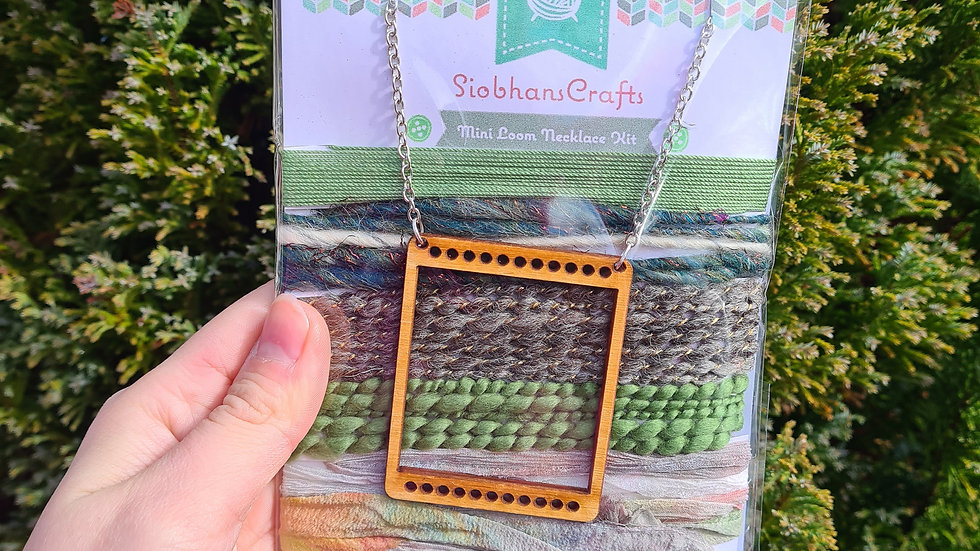 Mini loom necklace kit - Forest
