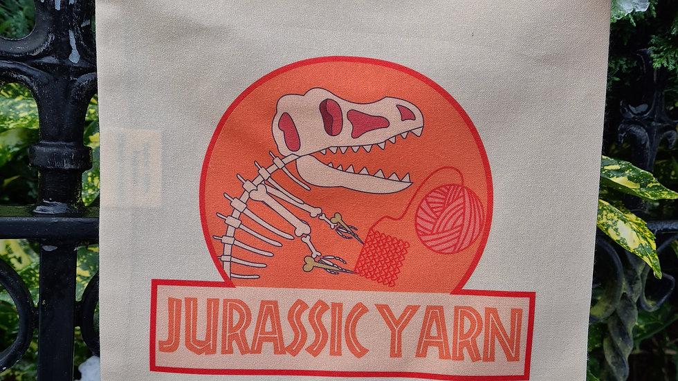 Jurassic Yarn drawing bag (Pink colours)