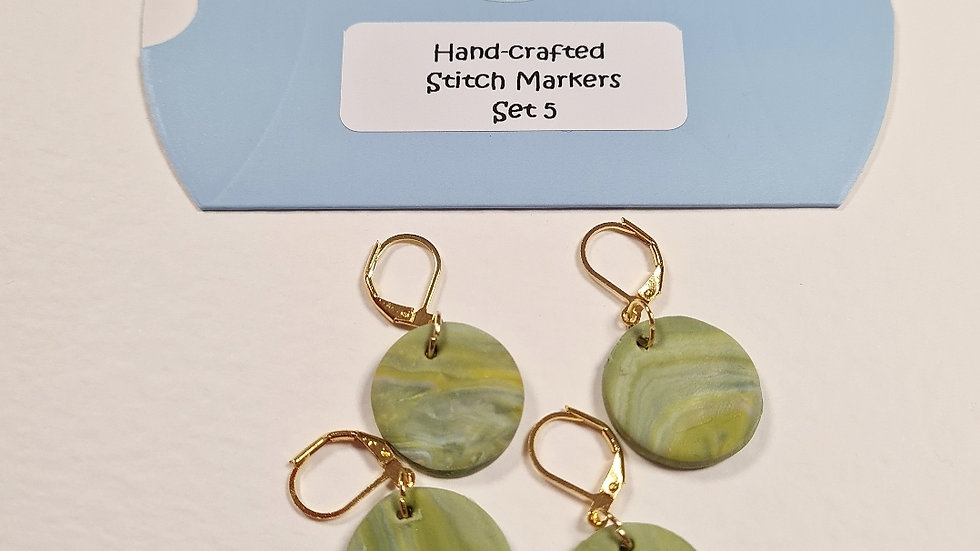 Hand-crafted stitch markers #5