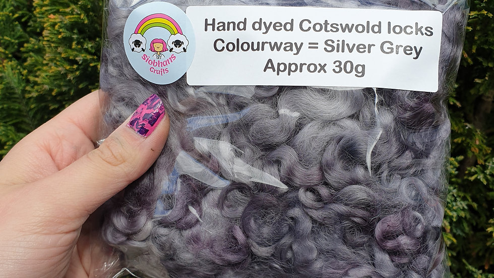 Silver Cotswold locks 30g