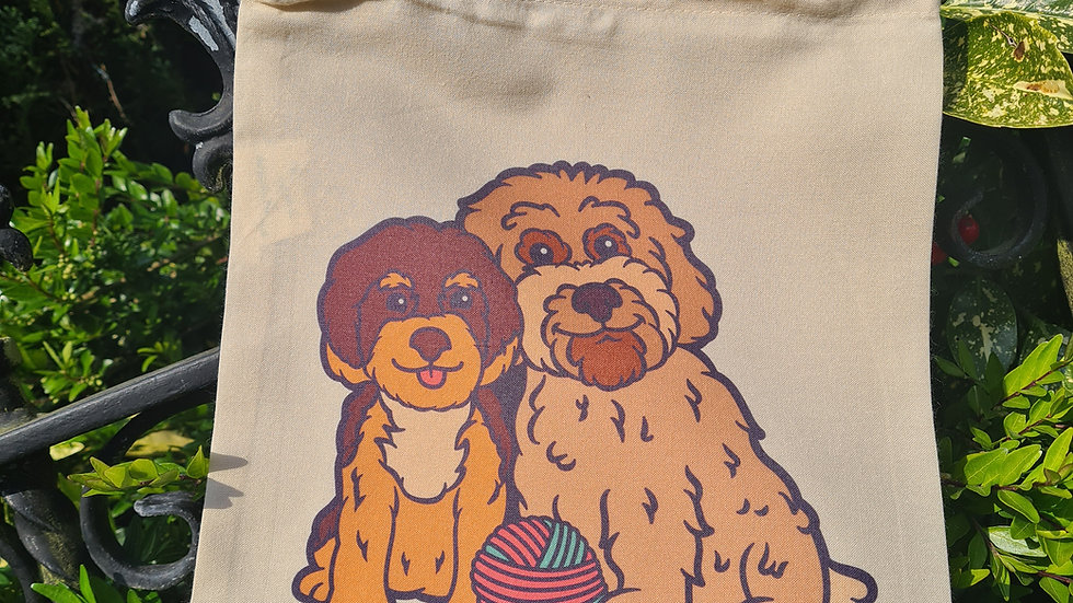 Dexter and Rosies bag