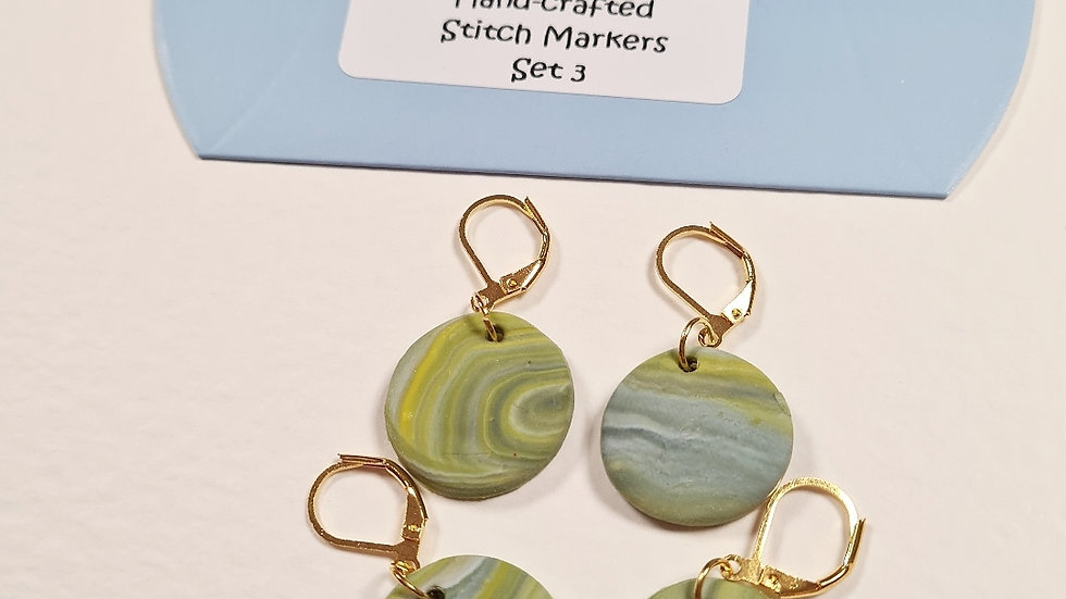 Hand-crafted stitch markers #3