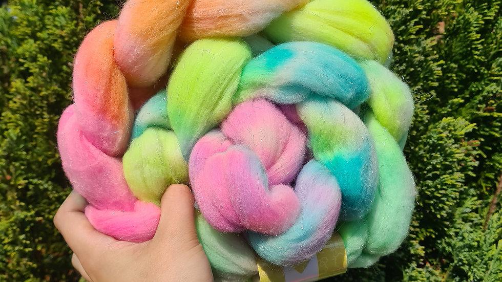 Pastel Rainbow Braid