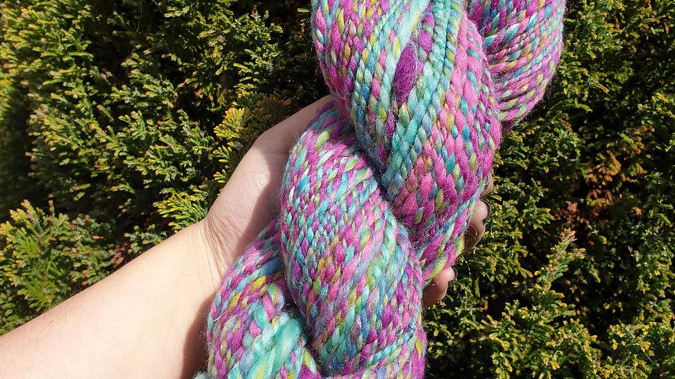 Jewel - hand spun yarn 147g