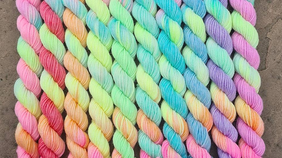 Pastel Rainbow minis