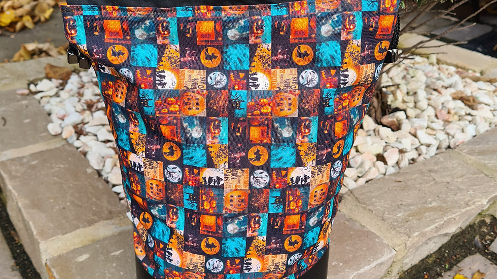 Large Halloween project bag