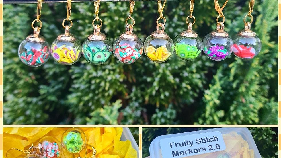 Fruity Stitch Marker set