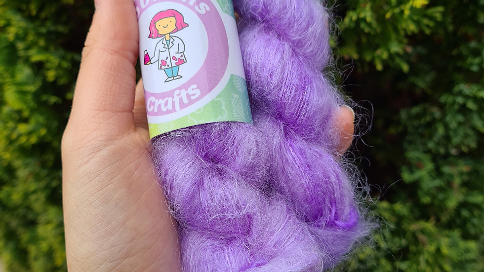 Pastel Purple - Mohair