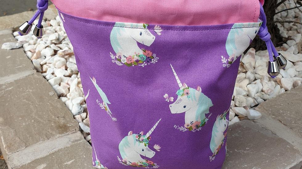 Small unicorn project bag