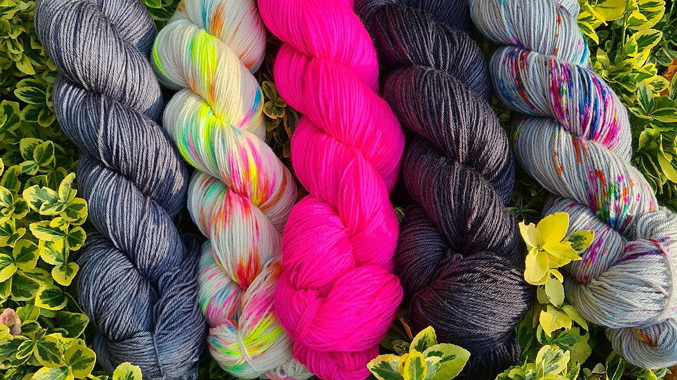 Yarn Kit #3 - suitable for the WestKnits MKAL