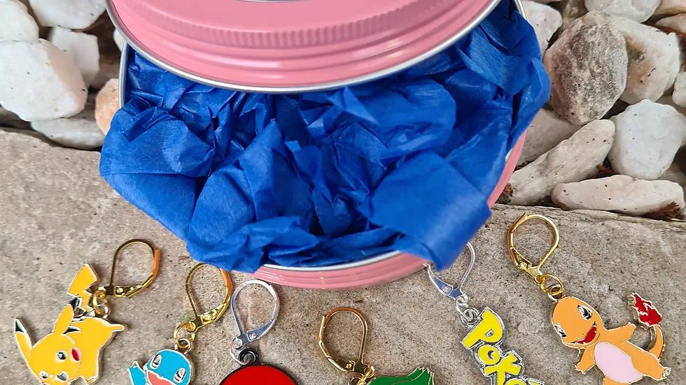 Stitch Marker Set - Pokemon