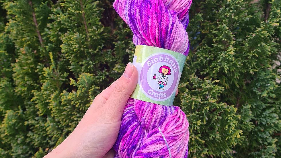 Purple flower bouquet- aran