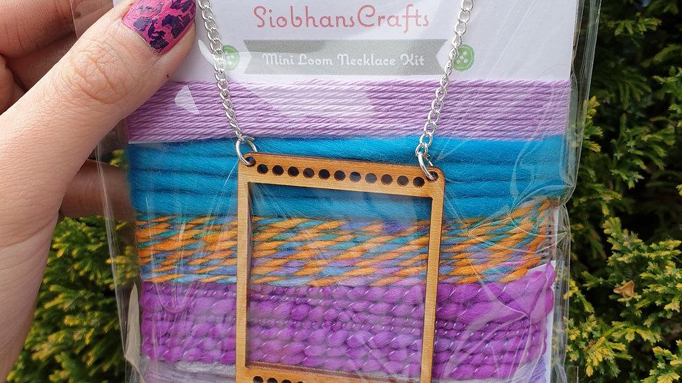 Mini loom necklace kit #13