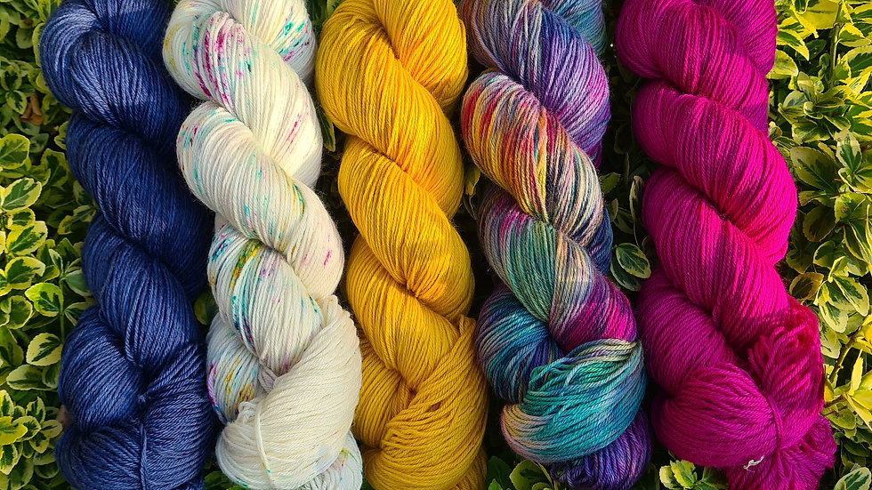 Yarn Kit #4 - suitable for the WestKnits MKAL