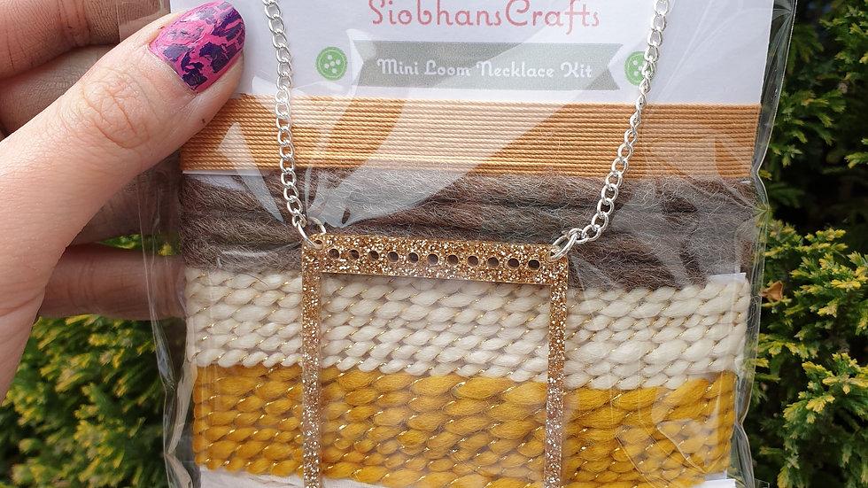 Mini loom necklace kit #18