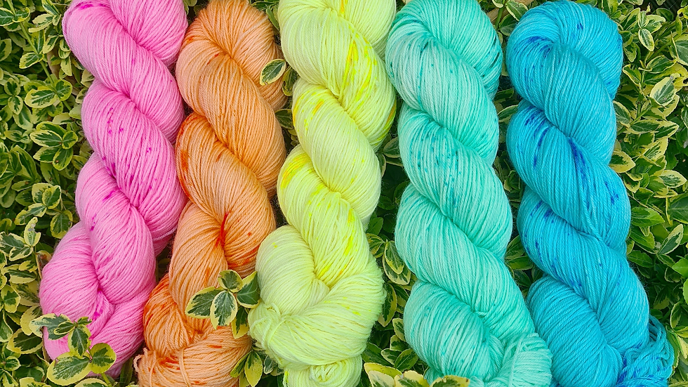 Yarn Kit #6 - suitable for the WestKnits MKAL