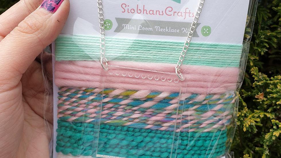 Mini loom necklace kit #19