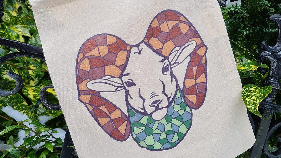 Rams Head drawing bag
